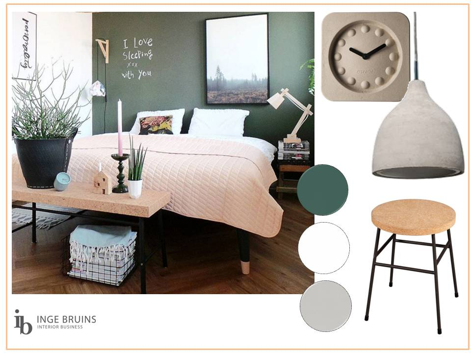 Moodboard slaapkamer ideeën inge bruins interior business